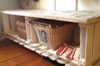 77 DIY Bench Ideas  Storage, Pallet, Garden, Cushion - Rilane