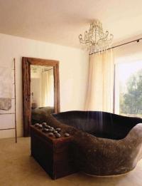 20 Amazing Bathroom Designs with Natural Stone Bathtub ...