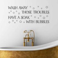 15 Decorative and Interesting Bathroom Wall Stickers