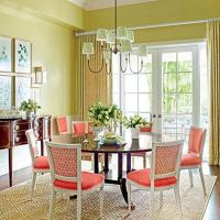 Living Room Coral Chairs