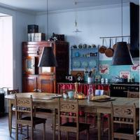 15 Captivating Bohemian Chic Kitchen Design Ideas - Rilane