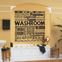 15 Decorative and Interesting Bathroom Wall Stickers - Rilane