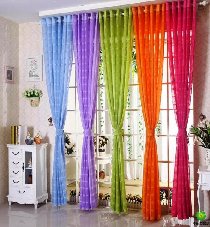 sheer curtain ideas for living room decorating shelves in 15 delightful designs the rilane