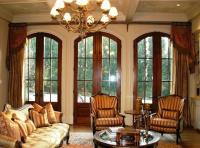 15 Cozy Living Rooms with French Doors and Windows - Rilane