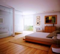 15 Amazing Bedroom Designs with Wood flooring - Rilane