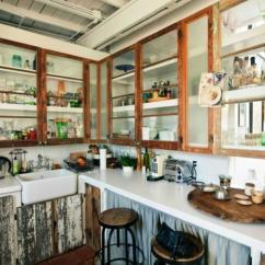 Kitchen Glass Cabinets How To Make A Cabinet 10 Chic And Elegant Cupboards Rilane