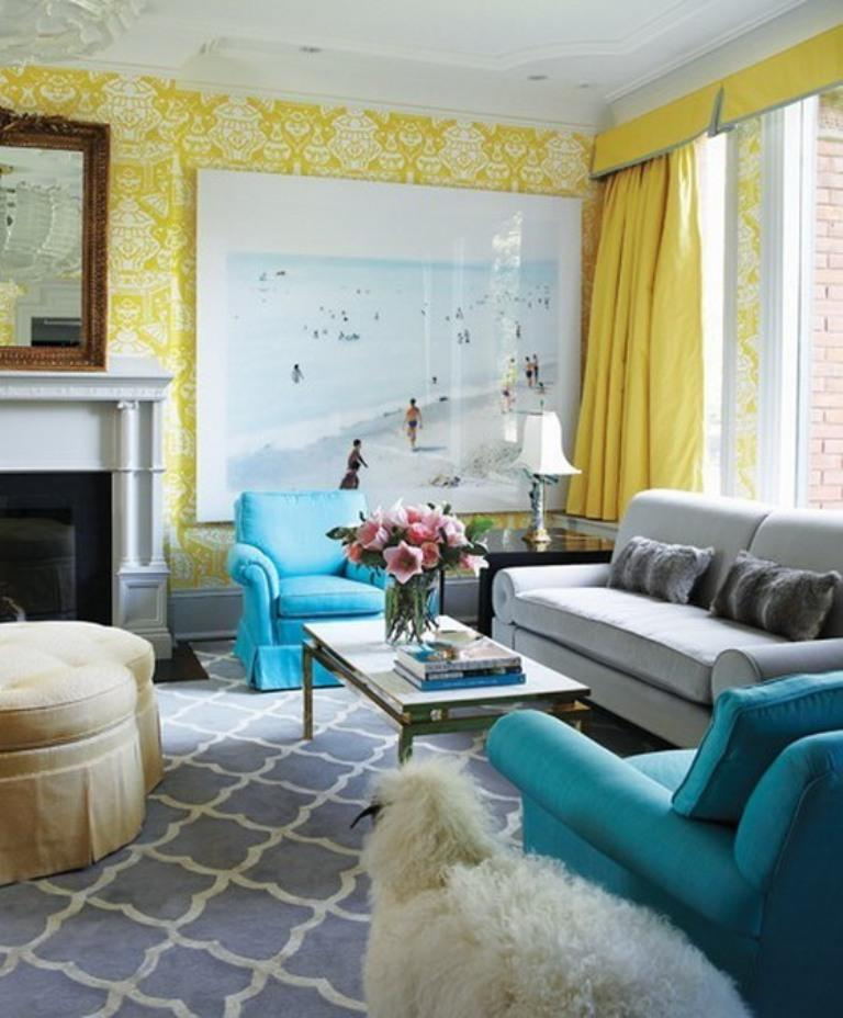 grey blue and yellow living room ideas patio furniture in 20 charming design rilane