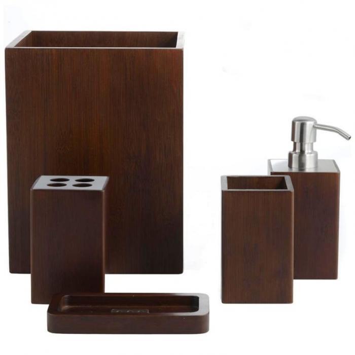Brown Bathroom Sets