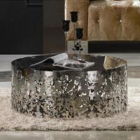 10 Superb Stainless Steel Coffee Table Designs - Rilane