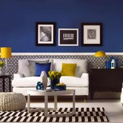 Gray White And Yellow Living Room Ideas Home Decor 20 Charming Blue Design Rilane
