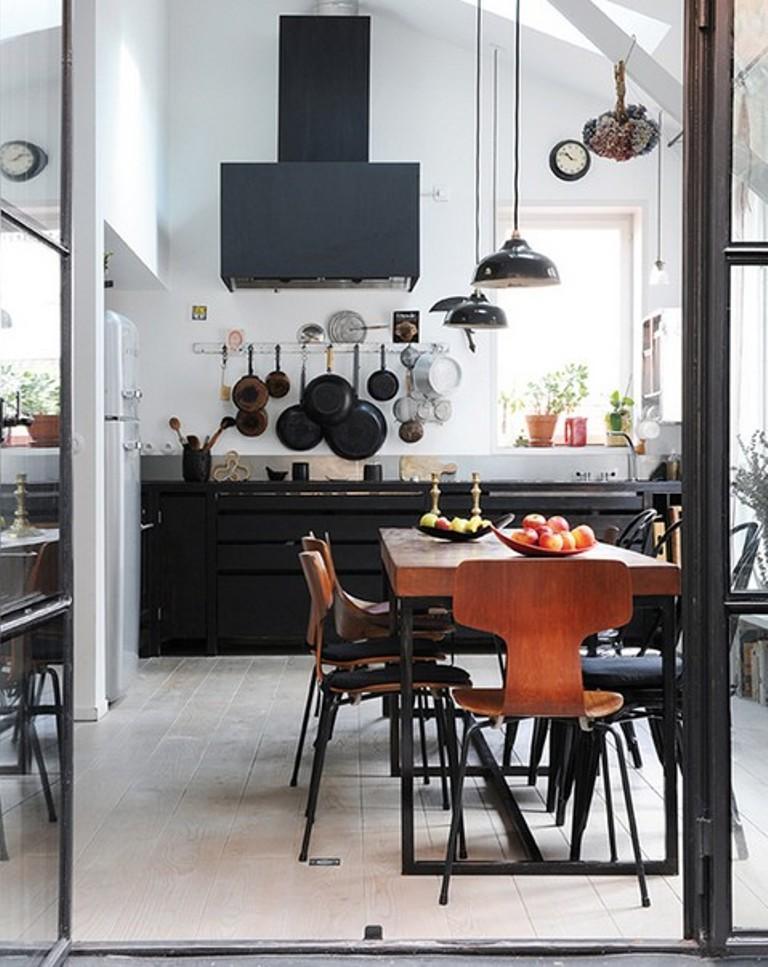 15 Chic Industrial Dining Room Design Ideas  Rilane
