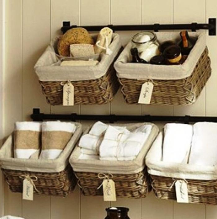 10 Practical Bathroom Basket Organizers  Rilane