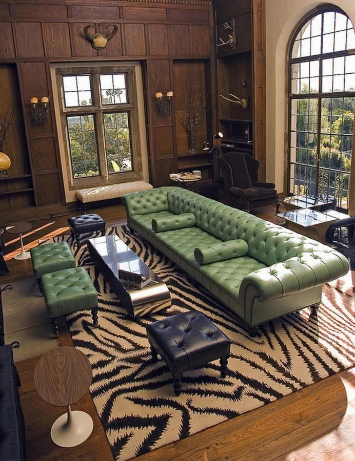 10 Gorgeous Leather Chesterfield Sofa Designs Youll Love