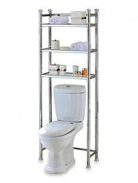 10 Useful Over the Toilet Storage - Rilane