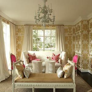 living damask elegant rooms chic rilane