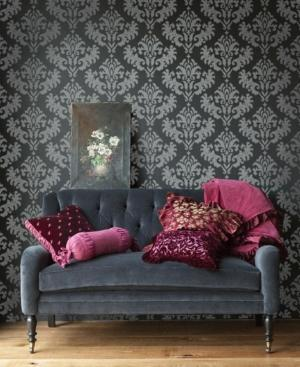 damask living wall elegant rooms paper decor decal grouping designs chic sofa modern bedrooms bold dorm baroque gold rilane fix
