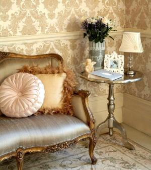 living damask elegant rooms classy chic victorian gold wall decor wallpapers paper modern bedroom cream decorating interior sitting sophisticated papers