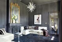 23 Superbly Refined Gray Living Room Designs