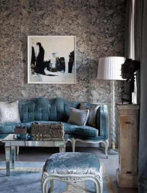 living damask minassian chahan paris perrin chic cool interior french decor rooms elegant gorgeous apartment parisian homes lessons galland famous