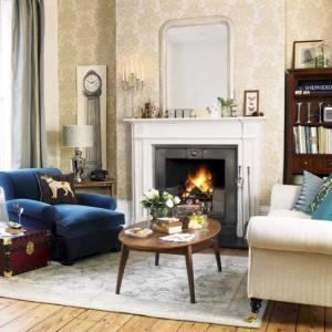 living rooms damask english british elegant interior decorating decor roomenvy chic traditional classic decoration modern eccentric fireplace decorated smart 1940s