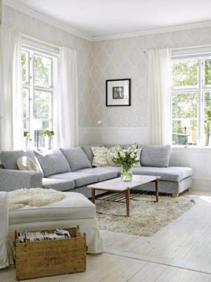 living damask fresh elegant chic rooms wall beige grey gray livingroom paper colors walls lounge rilane designs classy salon cream