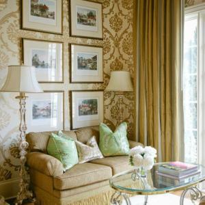 living damask rooms gold designs modern decor elegant chic bedroom ivory taupe georgian residence designer rilane remodel bathroom mediterranean
