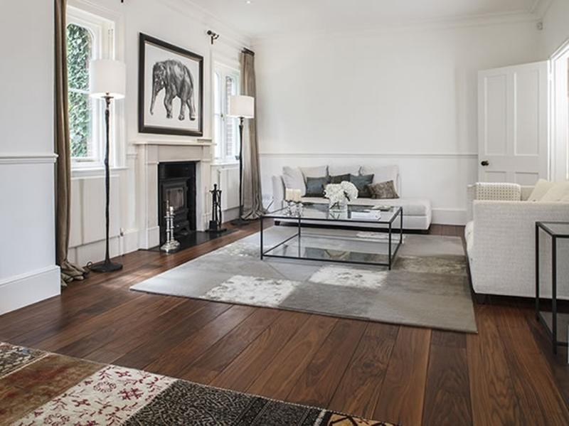 flooring design for living room french country themed useful solutions and superb ideas rilane walnut floor warm solid underfoot traditional interior