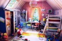 15 Interesting Kids Attic Bedroom Ideas - Rilane