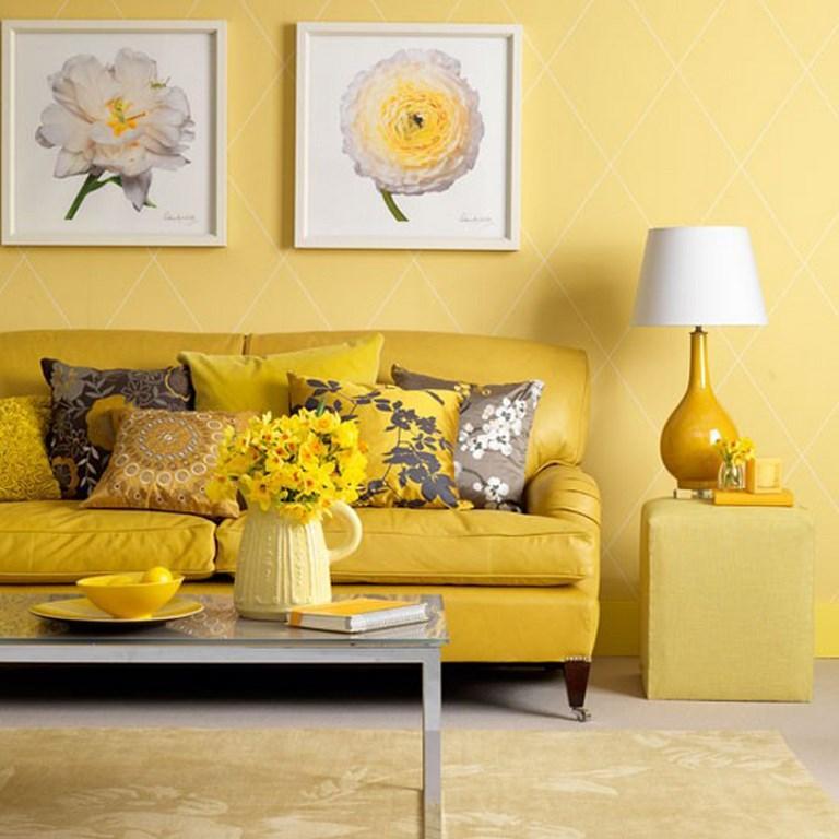 living room colour schemes brown leather sofa scheme in exquistie 23 design ideas rilane all yellow