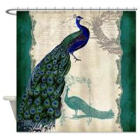Peacock Shower Curtains in 10 Colorful and Eccentric ...
