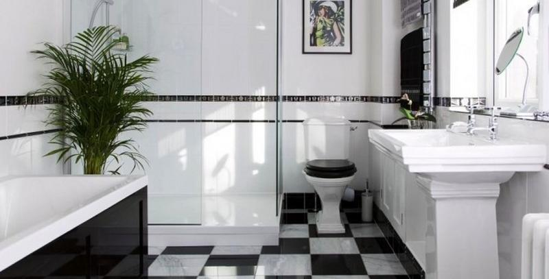 images of art deco bathrooms