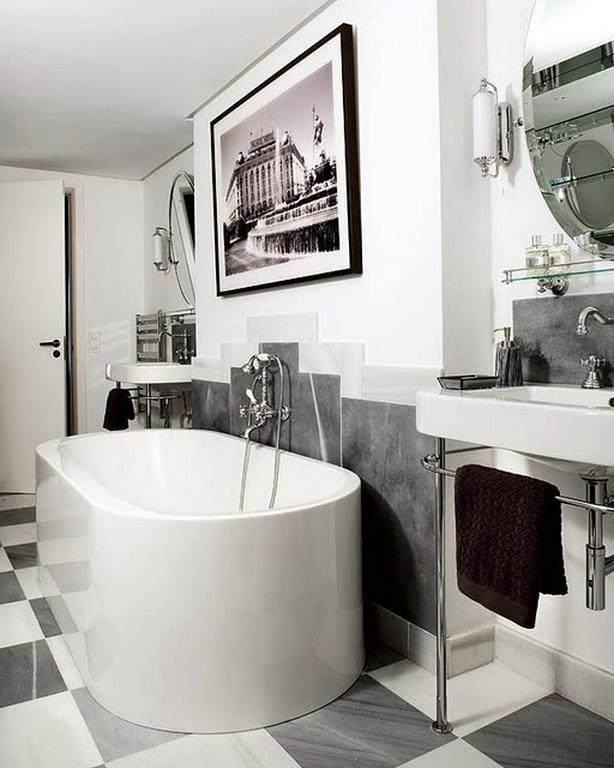 ideas for art deco bathroom