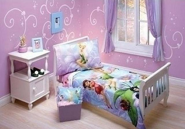 Tinkerbell bedroom in 15 dreamy designs bedroom for Tinkerbell bedroom furniture