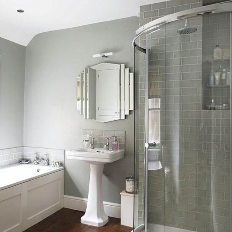 tub chair grey swing wicker art deco bathrooms in 23 gorgeous design ideas - rilane