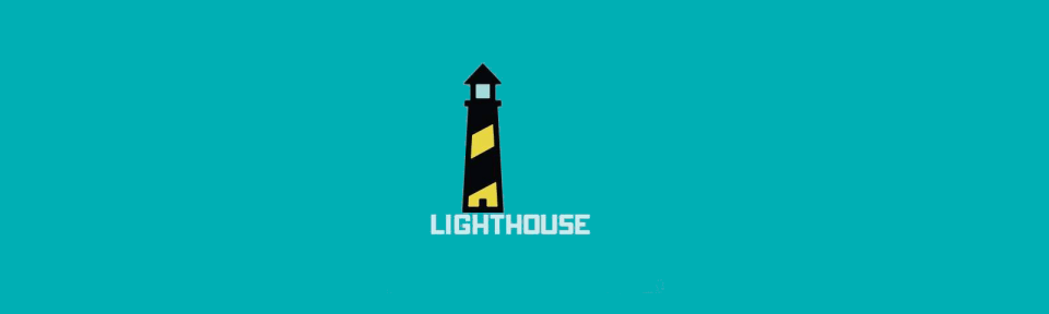 lighthouse logo website portfolio