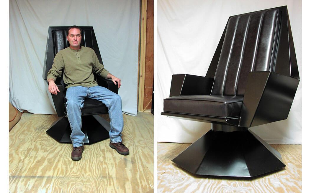 Chair wars  Ray butcher shop