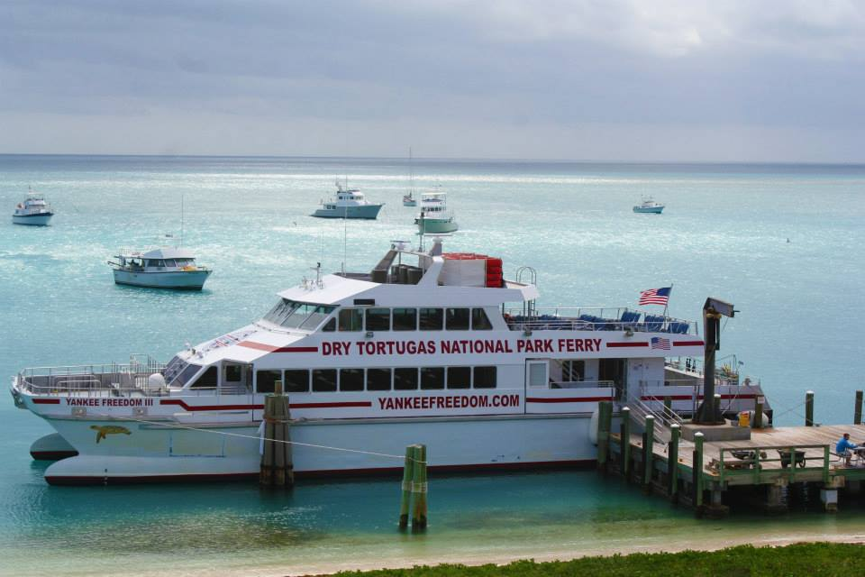 The Yankee Freedom Ferry that carried 70 miles from Key West