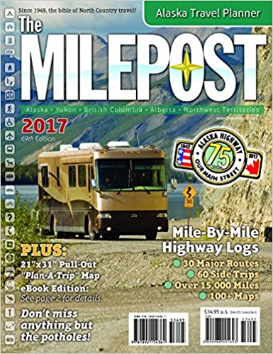 The 2017 edition of the MilePost guidebook