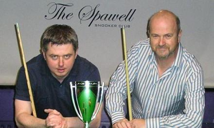 l-r Anthony Clifford (Winner) & Dave Seales (R/Up)