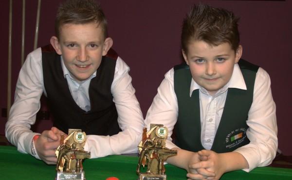33rd U/15 Stars of the Future at Joeys Snooker Club, Dublin 2014