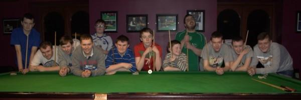 Stars Academy Ireland Snooker Scholarship Day 2 for Group 1 in Sharkx Newbridge 2014