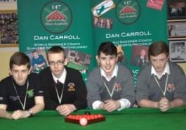 James, Ryan, Jack & Sean Quarter Finalists