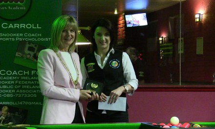 Valerie Maloney takes International Ladies Irish Open 6 Red event at Joey's Dublin
