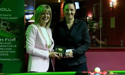 Emma Bonney wins Inaugural Ladies International Irish Open at Joey's Dublin