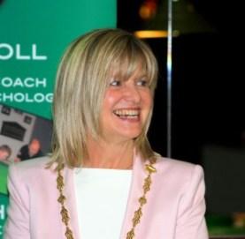 Cllr Deirdre Heney representing Dublin Lord Mayor