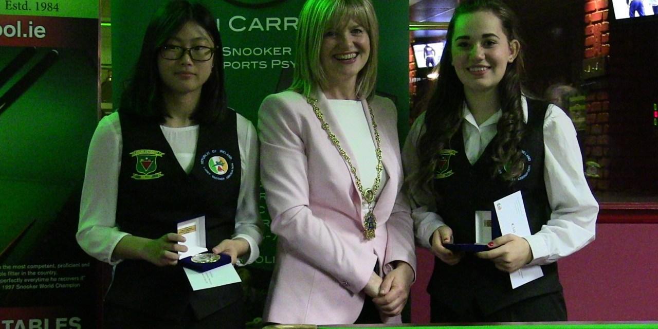Ladies Irish International Snooker Open – Report