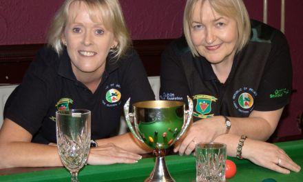 Sandra Bryan retains the Ladies Griffith Cup at Joeys Dublin