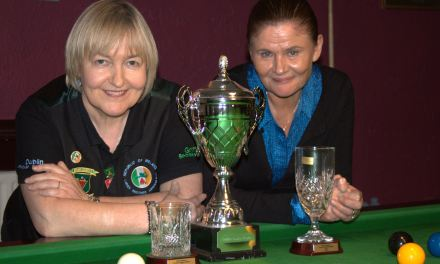 Cathy Dunne takes RILSA Ranking 2 the Stars Academy Masters in Dublin
