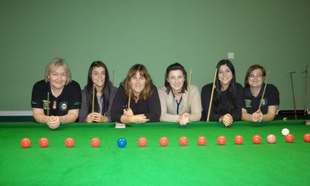 RILSA's newest members at Portarlington Snooker Club