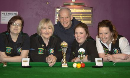 Annette Newman wins Inaugural Ladies Billiards National Championship at Sharkx